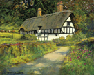 Timbered Cottage by Norman Coker