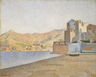 The Town Beach, Collioure, Opus 165 by Paul Signac