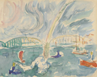 Rotterdam (Arc-en-Ciel) by Paul Signac