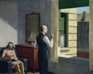 Hotel by a Railroad, 1952 by Edward Hopper