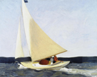 Sailing, 1911 by Edward Hopper