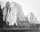 Cathedral Rock, Yosemite by Carleton E Watkins