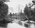 The Half Dome, Yosemite by Carleton E Watkins
