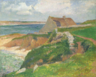 The Island of Raguenez, Brittany by Henry Moret