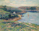 Riviere de Belon by Henry Moret