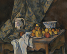 Still Life with Apples and Peaches by Paul Cezanne
