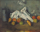 Milk Can and Apples by Paul Cezanne