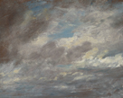 Stormy Clouds Study, 1821 by John Constable