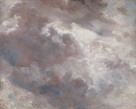 Dark Cloud Study, 1821 by John Constable