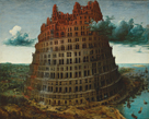 The Tower of Babel, Rotterdam by Pieter Bruegel the Elder