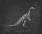Iguanodon Noir by The Vintage Collection