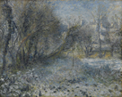 Snow-Covered Landscape by Pierre Auguste Renoir
