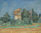 The Pigeon Tower At Bellevue by Paul Cezanne