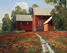 A Poppy Path by Mark Chandon