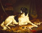 'Minna', A Favourite Dog Of James, Marquess Of Dalhousie by Gourlay Steell
