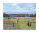 18th At Royal Lytham And St. Annes by Peter Munro