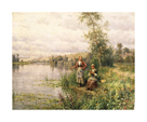 By The River by Louis Aston Knight