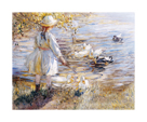 At The Duck Pond by Dorothea Sharp