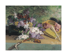Still Life with Lilac by Henri-Julien Dumont