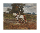 Returning Home before the Storm by Sir Alfred Munnings