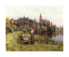 Summer Time by Louis Aston Knight