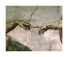 Creation of Adam - Detail by Michelangelo