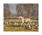 A November Morning by Sir Alfred Munnings