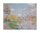 Spring by the Seine, 1878 by Claude Monet