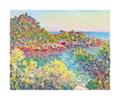 Landscape Near Montecarlo, 1883 by Claude Monet