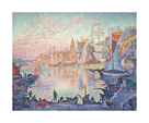 The Port of Saint-Tropez by Paul Signac