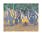 Place des Lices, St Tropez by Paul Signac