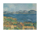 The Bay of Marseille, Seen from L'Estaque, c.1885 by Paul Cezanne