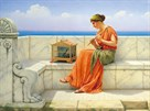 Song Without Words by John William Godward