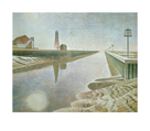 Rye Harbour, 1938 by Eric Ravilious