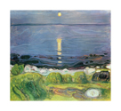 Summer Night At The Shore by Edvard Munch