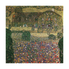 Country House By The Attersee by Gustav Klimt