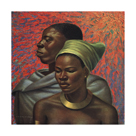 Zulu Couple by Vladimir Tretchikoff