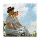 On the Heights by Charles C Curran