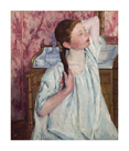 Girl Arranging Her Hair, 1886 by Mary Stevenson Cassatt