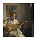 The Guitar Player by Jan Vermeer