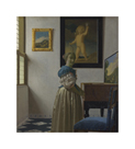 Lady Standing at a Virginal by Jan Vermeer