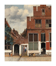 View of Houses in Delft, known as 'The Little Street' by Jan Vermeer