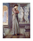 Pygmalion and the Image - The Heart Desires by Sir Edward Burne-Jones