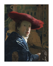Girl with the Red Hat, c.1665-66 by Jan Vermeer