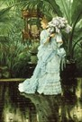 Girl with Lilac by James Tissot