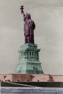 New York Postcard - Liberty by Chris Dunker