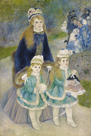 Mother and Children (La Promenade) by Pierre Auguste Renoir