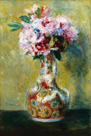 Bouquet in a Vase by Pierre Auguste Renoir