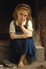 Pause for Thought by William Adolphe Bouguereau