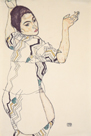 Portrait of Friederike Maria Beer, 1914 by Egon Schiele